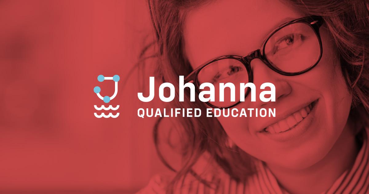 johanna qualified education